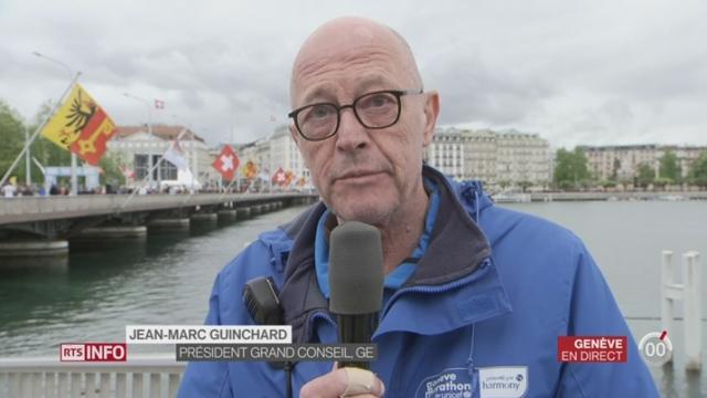 Marathon de Genève: entretien avec Jean-Marc Guinchard, secrétaire général et membre fondateur de la course [RTS]
