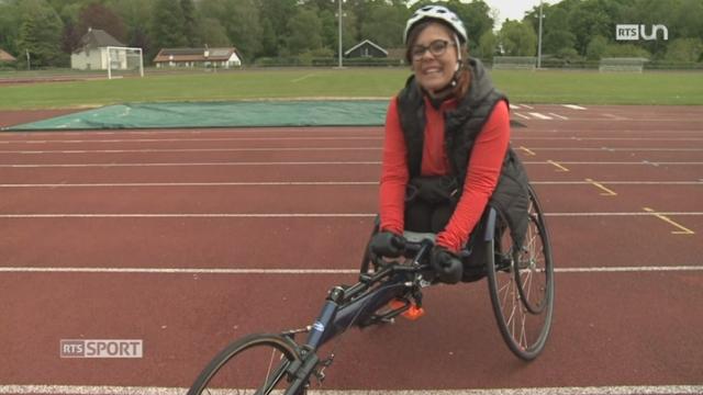 Course à pied: Emmanuelle Domon se lance un énorme défi malgré son handicap [RTS]