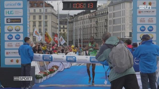 Course à pied: la 13e édition du marathon de Genève a rencontré un franc succès [RTS]