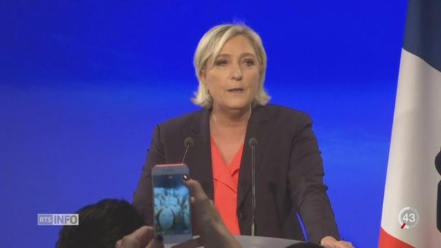 Marine Le Pen: l'heure est à la remise en question [RTS]