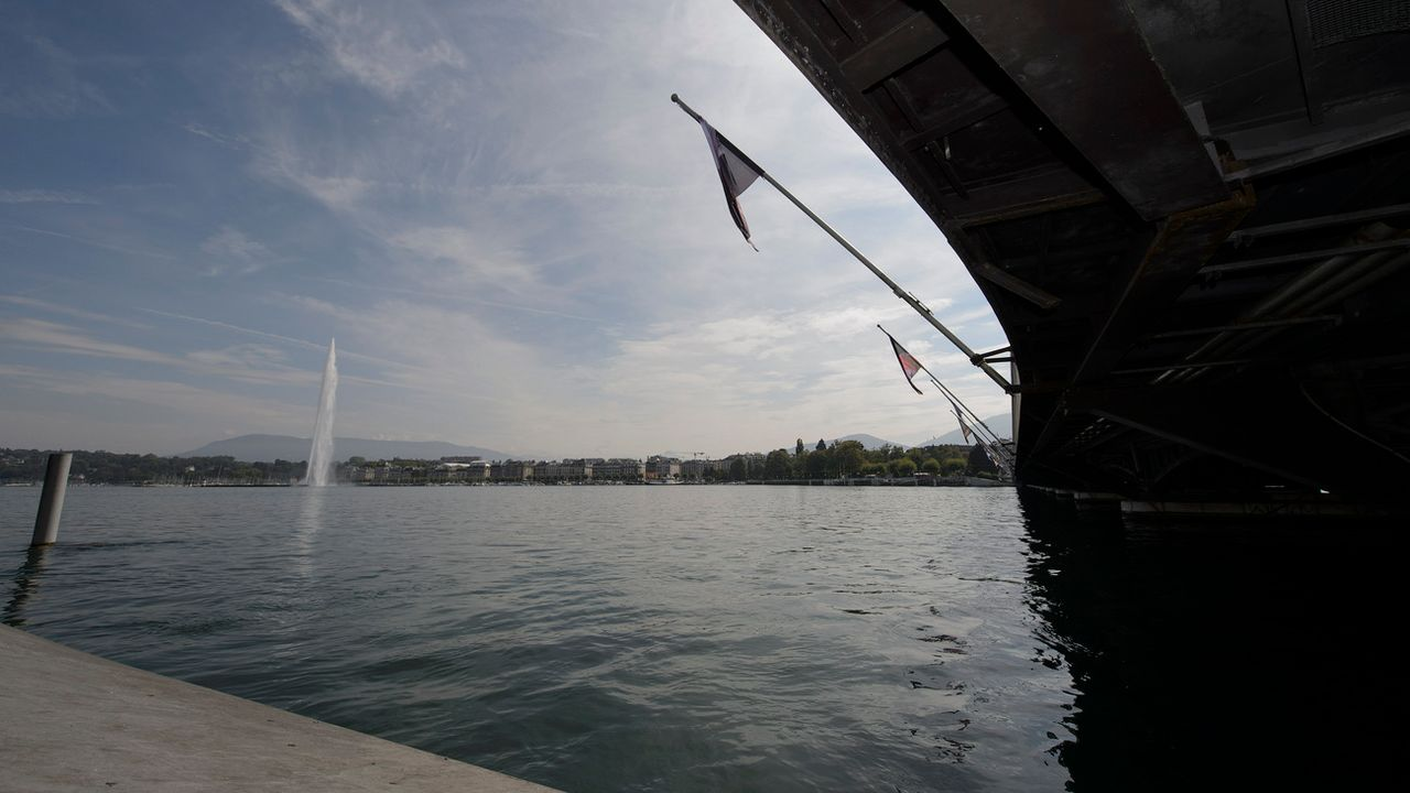 Genève a lancé un concours d'idées autour de la rade. [Martial Trezzini - Keystone]