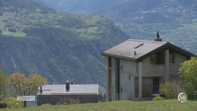 Aménagement du territoire: le Valais votera le 21 mai [RTS]