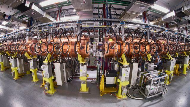 Le CERN a inauguré un tout nouvel accélérateur linéaire, le Linac 4. Maximilien Brice CERN [Maximilien Brice - CERN]