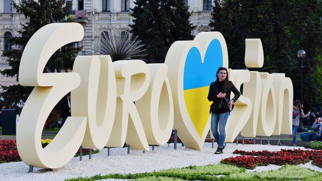 Le concours de l'Eurovision aura lieu à Kiev, en Ukraine, cette année. [Stringer - AFP]