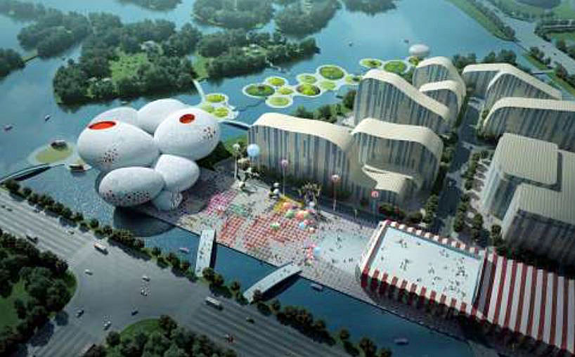 Le China Comic and Animation Museum de Hangzhou.