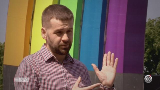 Finale de l'Eurovision: l'Ukraine veut se mettre en avant en tant que pays ouvert et tolérant [RTS]