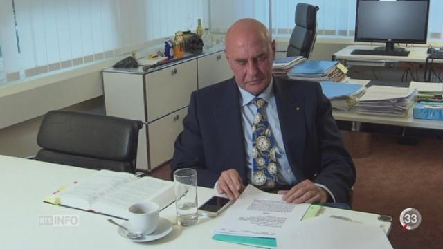 L'espion suisse a été filmé vendant de fausses données bancaires [RTS]