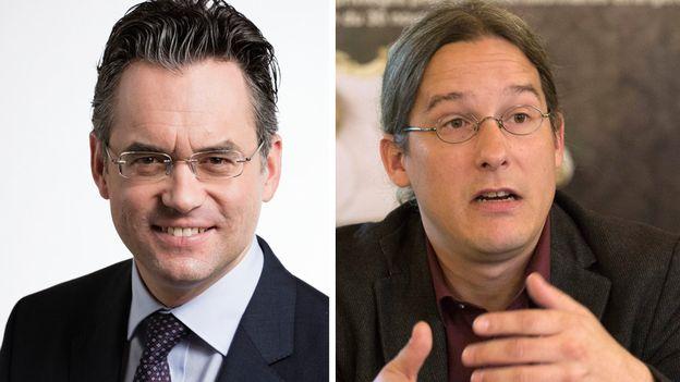 L'imposition à la source en débat à Bâle-Ville: le débat entre Olivier Feller et Emmanuel Amoos