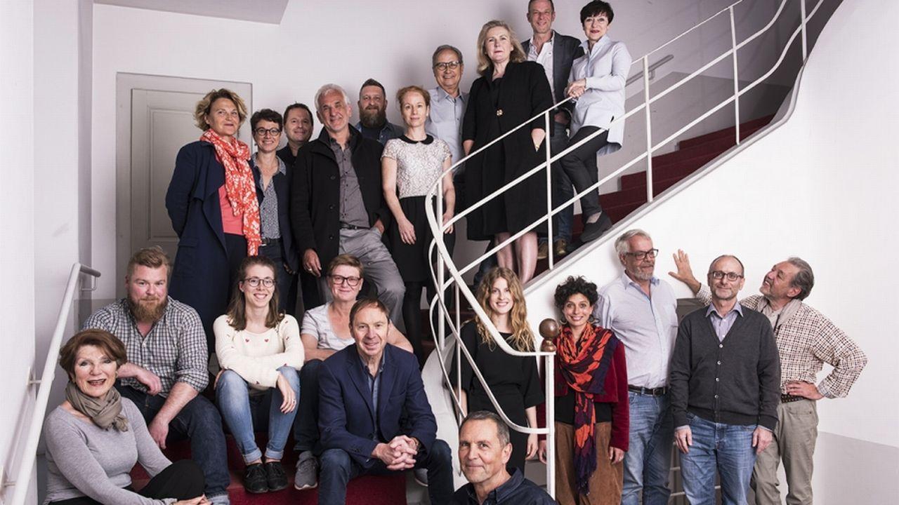 """L'équipe de """"Bon pour la tête"""", le nouveau site d'informations romand. [bonpourlatete.com]"""