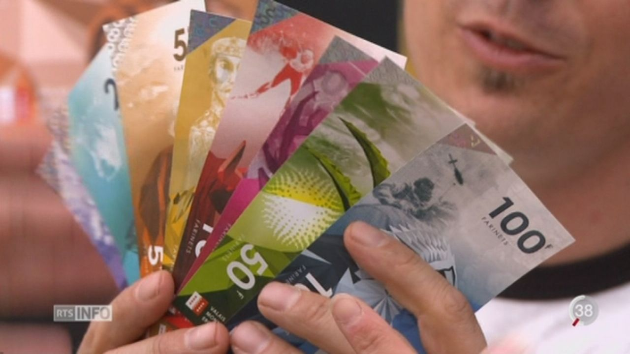 Le Valais lance sa monnaie locale [RTS]