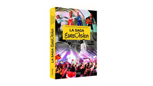 La Saga Eurovision, écrit par Jean-Marc Richard, Mary Clapasson et Nicolas Tanner. [RTS]