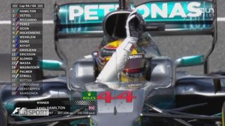GP d'Espagne: victoire d'Hamilton (GBR) devant Vettel (GER) 2e et Ricciardo (AUS) 3e [RTS]