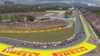 Formule 1 - GP d'Espagne: Hamilton remporte son duel face à Vettel [RTS]