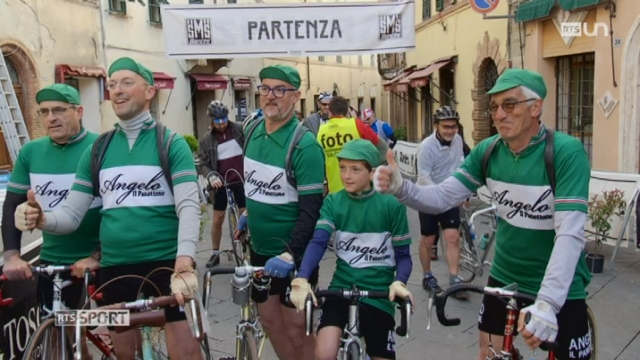 Le Mag: la course Eroica fait revivre le cyclisme d'antan [RTS]