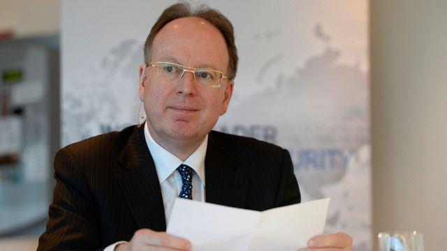 André Kudelski, président et administrateur délégué du groupe Kudeslki. [Maxime Schmid - Keystone]