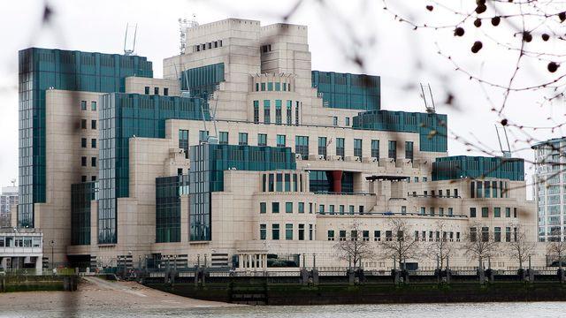 Le siège des services de renseignement britanniques à Londres. [Keystone]