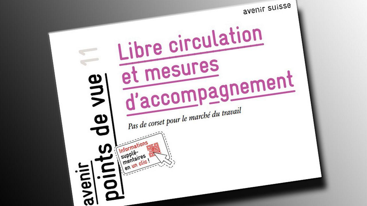 Le document émis par Avenir Suisse. [avenir-suisse.ch]