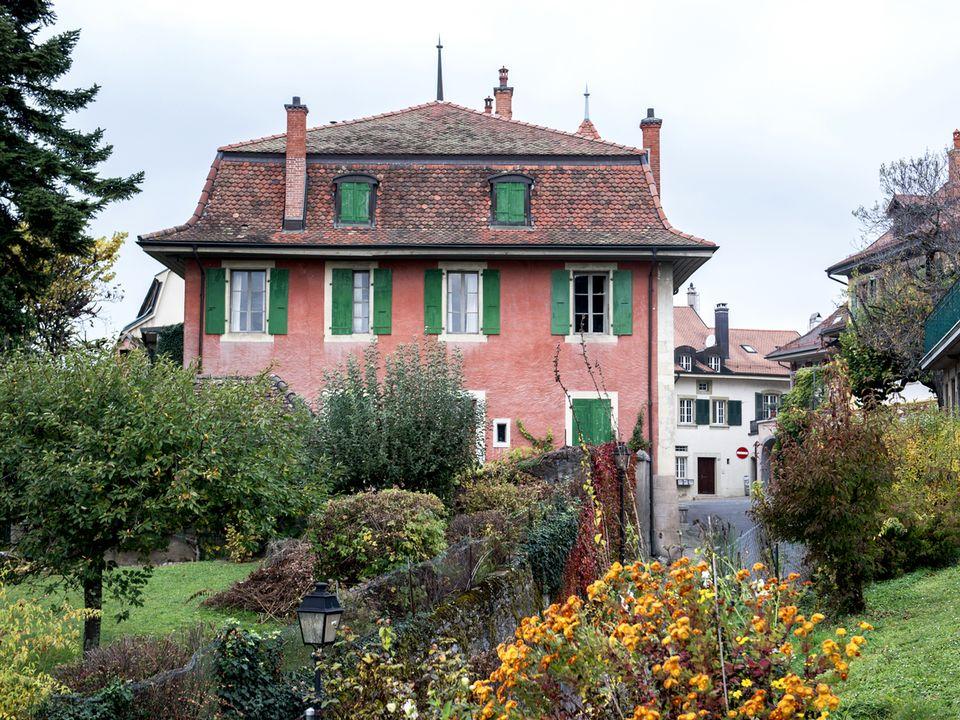 La Muette, à Pully, maison où a habité Charles-Ferdinand Ramuz de 1930 à 1947. [Léo Duperrex - Keystone]