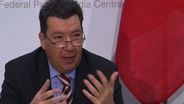 André Duvillard, délégué du Réseau national de sécurité et ancien commandant de la police cantonale neuchâteloise.