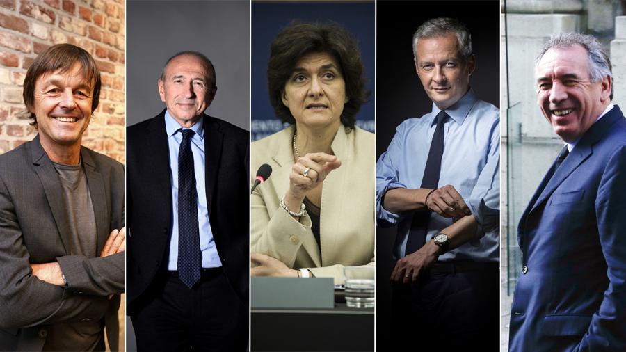 Politique La liste des ministres du premier gouvernement d'Edouard Philippe