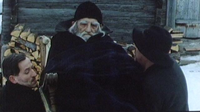 """Charles Vanel dans le film """"Si le soleil ne revenait pas"""". [RTS]"""