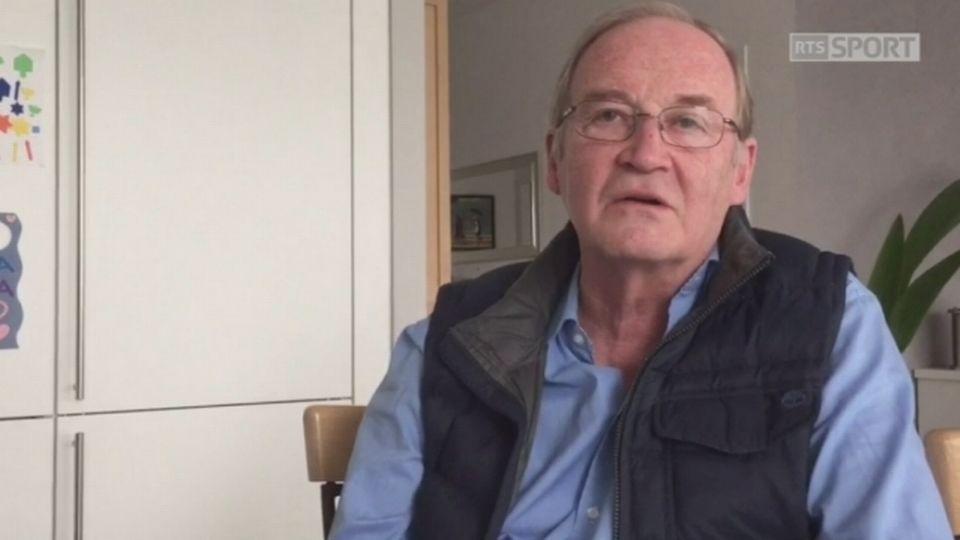 F1: Jacques Deschenaux parle de la rivalité Prost-Senna [RTS]