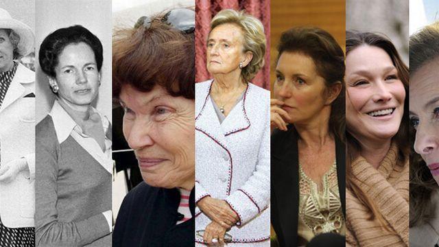 Les Premières Dames de la Ve République [Keystone - Reuters / AFP]
