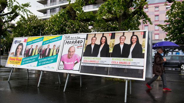 Analyse de l'entre-deux tours de l'élection au Conseil d'Etat vaudois