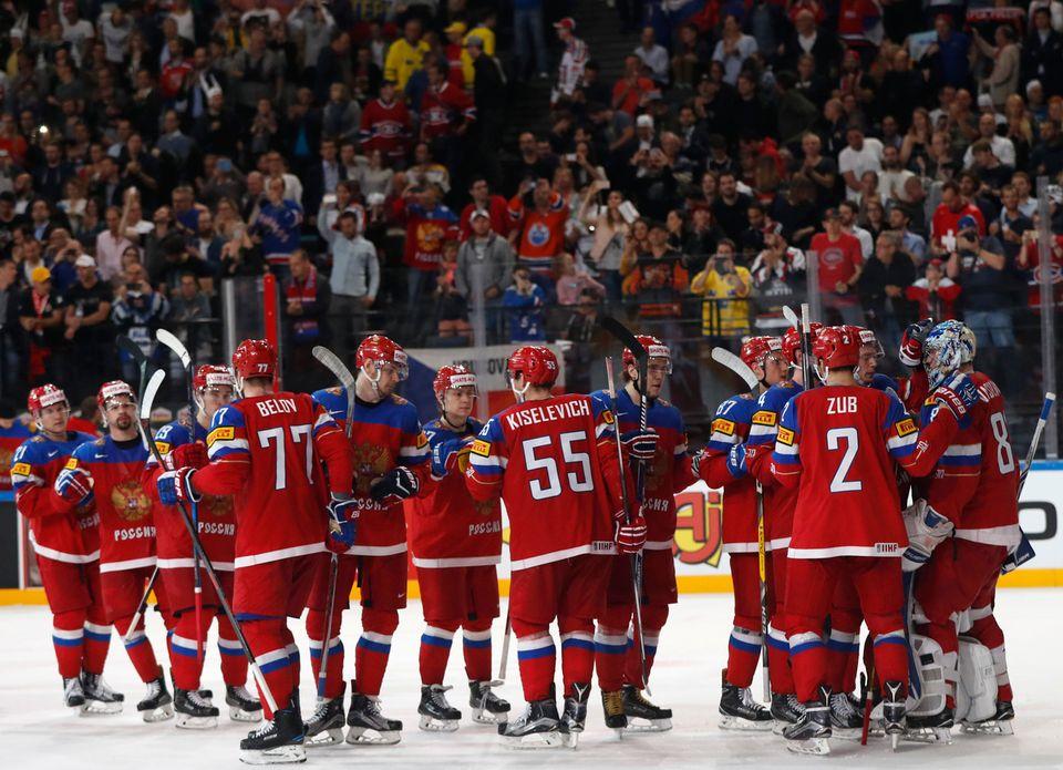 Les Russes n'ont pas eu à forcer leur talent pour battre la République tchèque. [Petr David Josek - Keystone]