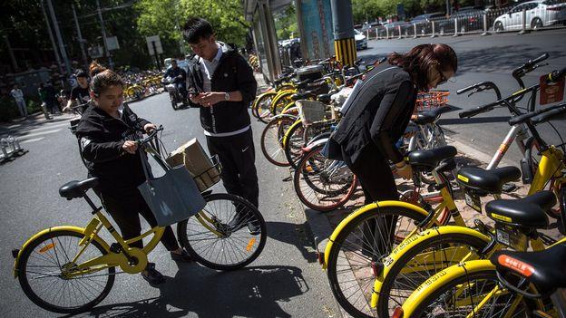 Essor de l'économie partagée en Chine