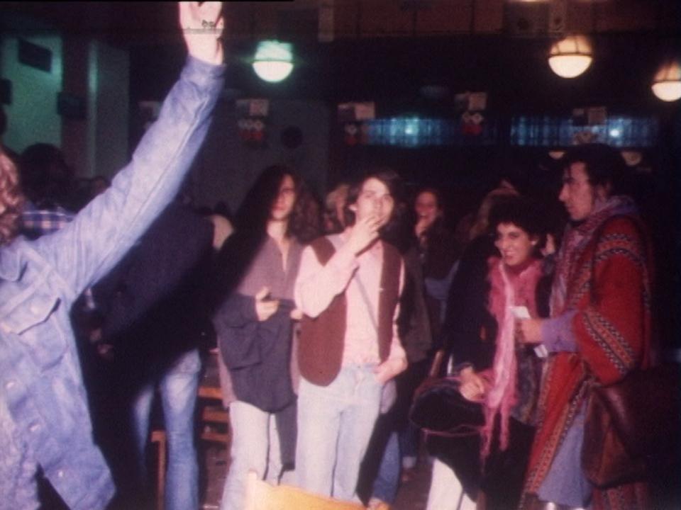 Les jeunes manifestent à Lausanne en 1977. [RTS]