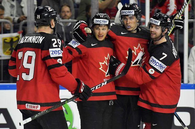 Le Canada a fini premier de son groupe. [Martin Meissner - Keystone]