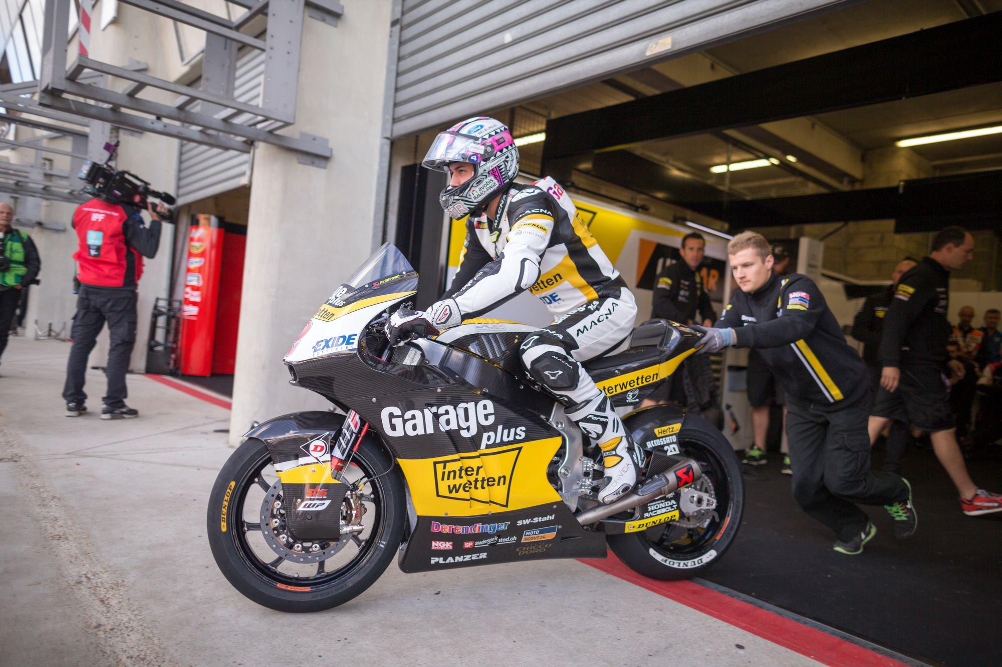GP France-Moto2: Morbidelli au sommet