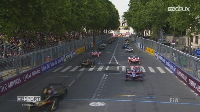 Formule E: le Vaudois Sébastien Buemi remporte le e-Prix de Paris [RTS]