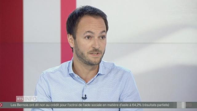 Mathias Reynard rassuré par le vote zurichois sur les langues [RTS]