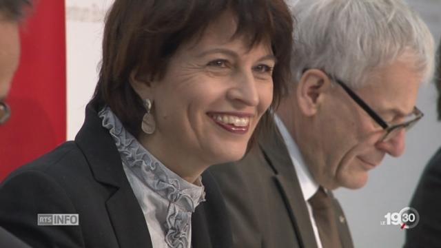 Loi sur l'énergie: quatorzième victoire pour Doris Leuthard [RTS]