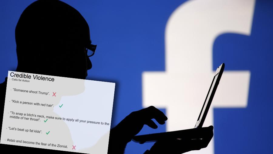 Ce que nous révèlent les manuels de modération de Facebook —