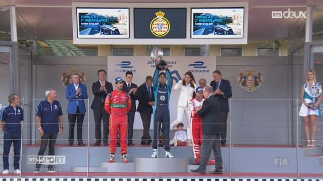 Formule E - Monaco: Sébastien Buemi remporte le e-Prix [RTS]
