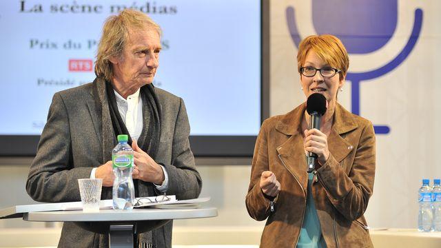 Prix du public 2017 - Patrick Ferla reçoit Silvia Härri [Patrick ROY]