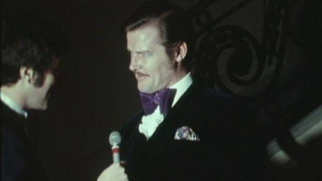 Roger Moore à Monte-Carlo en 1971. [RTS]