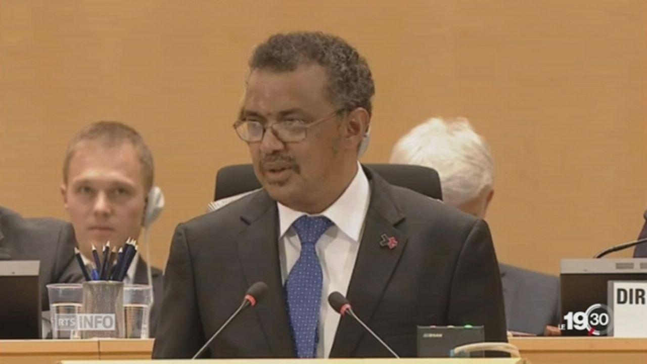 Genève: un nouveau boss pour l'Organisation Mondiale de la Santé [RTS]
