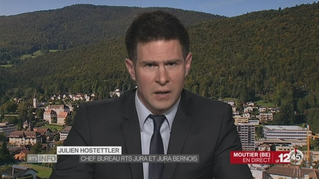 Hôpital de Moutier (BE): duplex avec Julien Hostettler