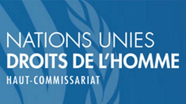 Haut-commissariat aux droits de l'homme [Haut-commissariat aux droits de l'homme - ohchr.org]