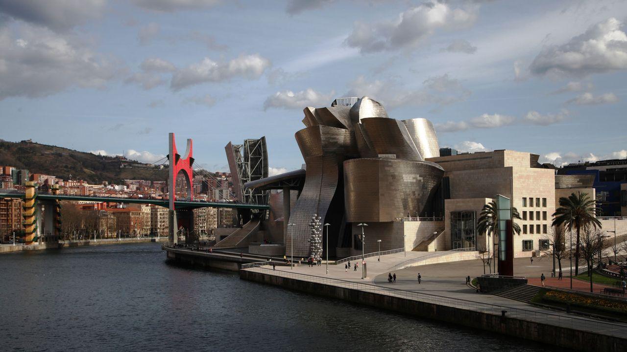 Le musée Guggenheim de Bilbao. [Steffen Trumpf - DPA/AFP]