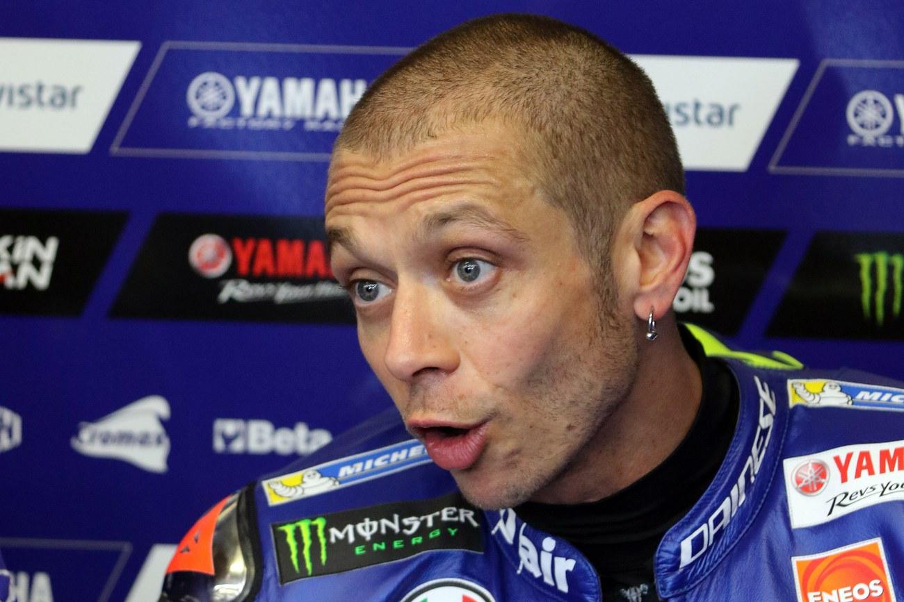 L'Italien Valentino Rossi blessé dans un accident de motocross — Moto GP
