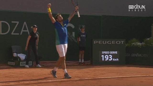 Genève, finale, S.Wawrinka (SUI) – M.Zverev (GER) 4-6 6-3 6-3, Stan Wawrinka remporte le Geneva Open! [RTS]