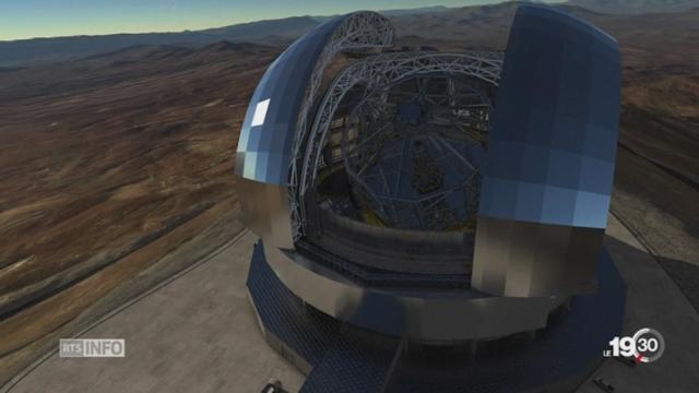Plus grand télescope du monde: première pierre posée au Chili [RTS]