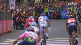 Cyclisme-Giro: le Français Thibaut Pinot a remporté la 20e étape du Giro [RTS]