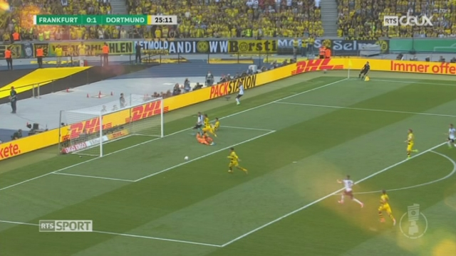 Football-Finale de Coupe d'Allemagne: Eintracht Frankfurt - B. Dortmund (1-2) [RTS]