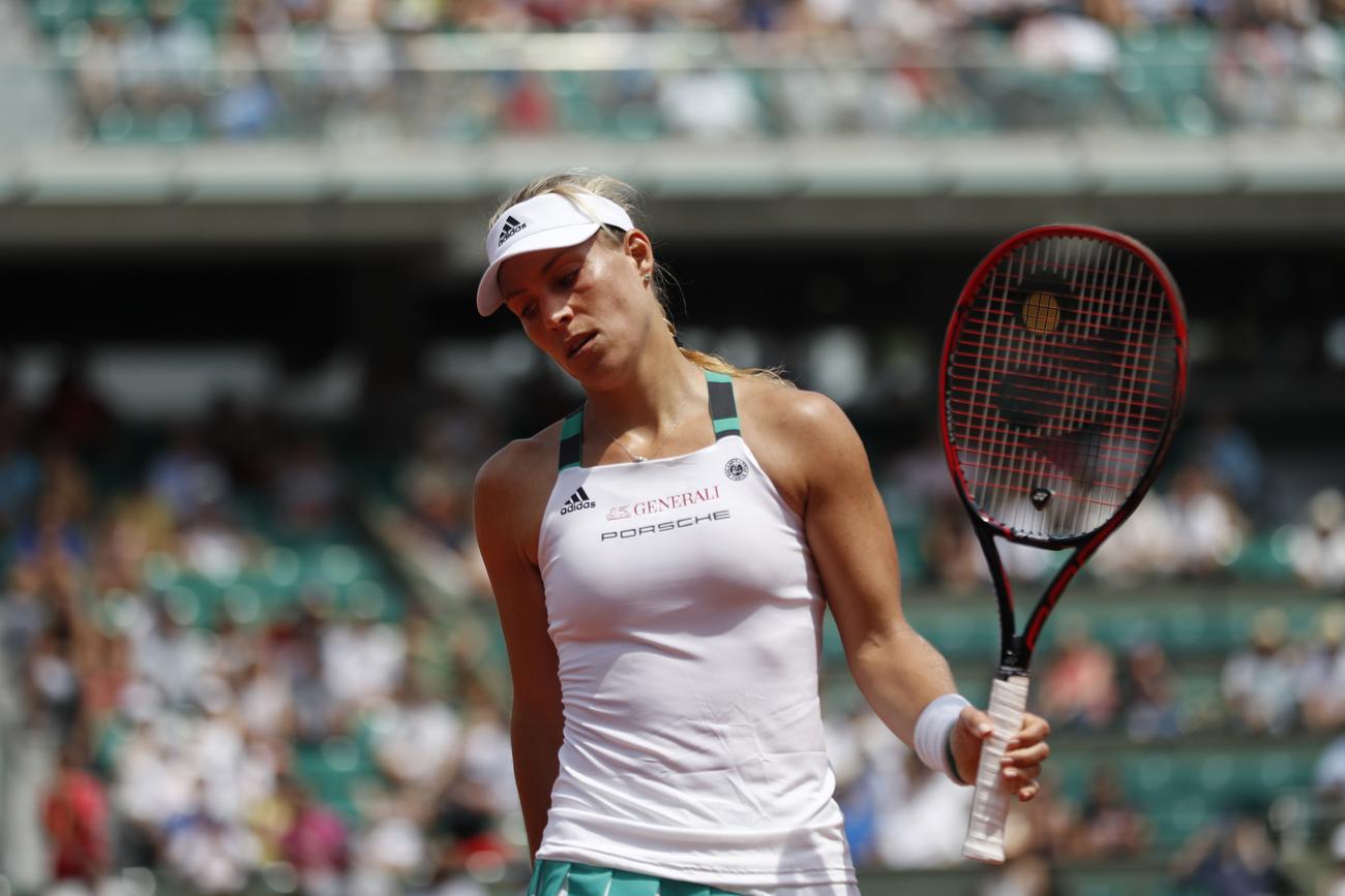 Roland-Garros: Angélique Kerber, la n°1 mondiale, éliminée dès le 1er tour !